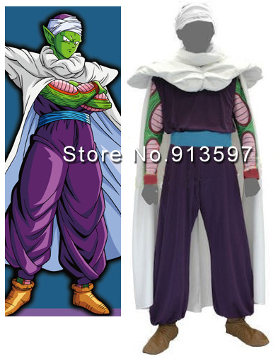New Japanese Anime Dragon Ball Piccolo Cosplay Costume-in Anime Costumes  from Novelty & Special Use on Aliexpress.com   Alibaba Group