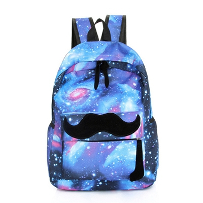 Aliexpress.com : Buy Galaxy Backpack Teens New Nylon Space Print ...