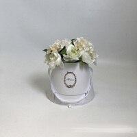 W9761 Drawer Handmade Flower Gift Box Hand Hold Flower Box Candy Wedding Mooncake Box Gift Gift