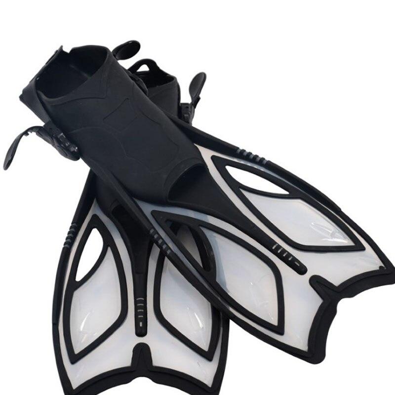 Palmes de plongée professionnelles natation grenouille chaussures réglable F07 équipement de plongée palmes en silicone palmes de plongée