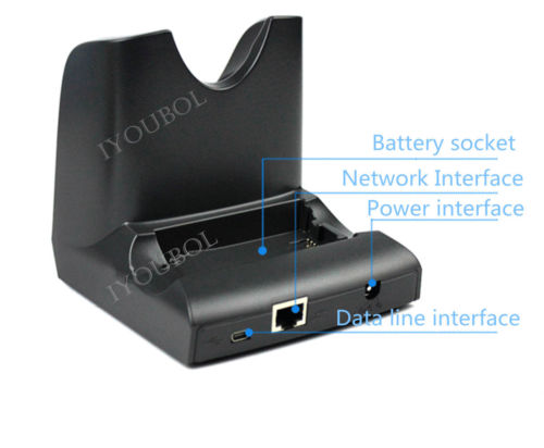 New Charging Cradle Charger For Symbol Motorola Zebra Mc3190 Usb In