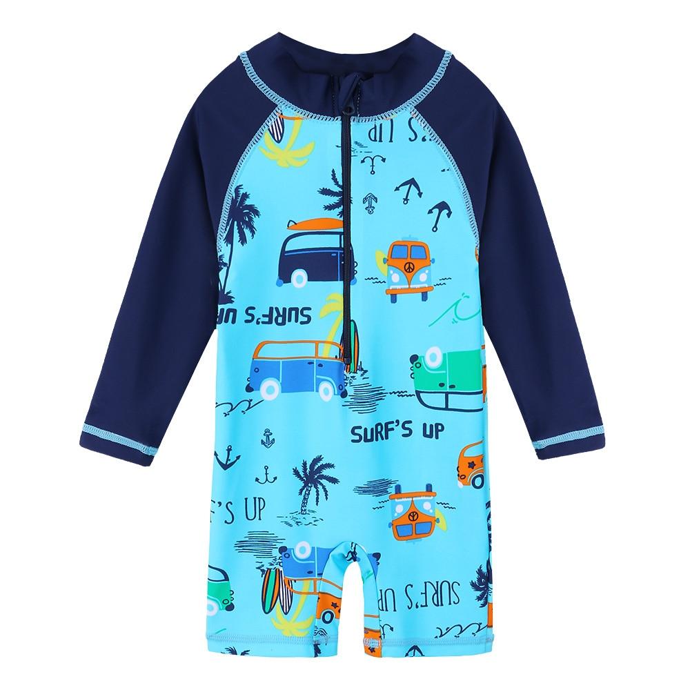 Yoga Children Upf50 Surf Rashguard Toddler Boys Two Piece Swimsuit Baby Girls Cartoon Bathing Swimming Suit Kids Beach Wear Swimwear Clearance Price