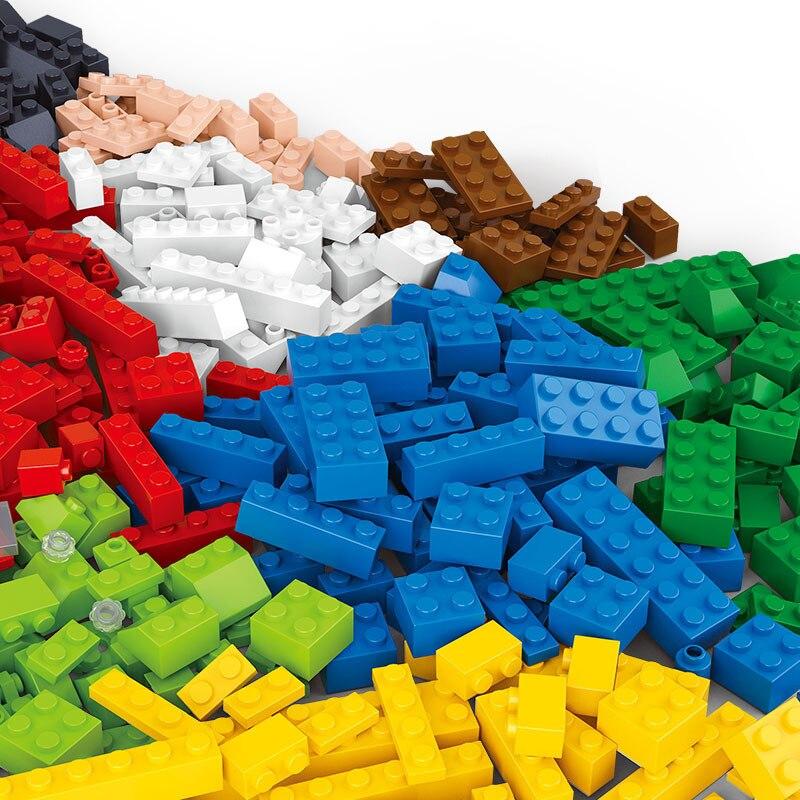 0502 415pcs Standard Classic DIY Constructor Model Kit Blocks Compatible LEGO Bricks Toys For Boys Girls Children Modeling