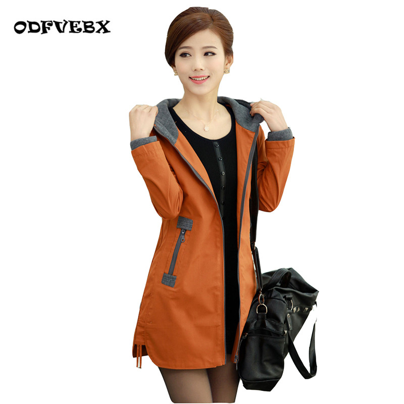 M 4XL New Female Windbreaker Outerwear 2019 New Spring Autumn Female Plus Size Casual Jacket Fashion