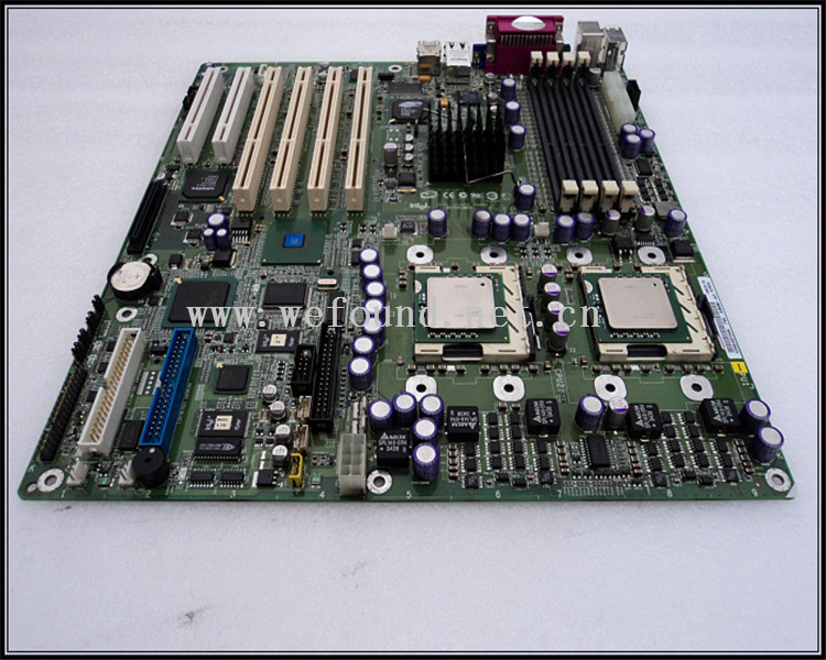 100% Working server Motherboard for SE7501BR2 U320 SCSI RAID Fully Tested цена