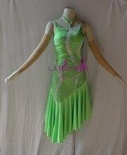KAKA-L1524, Wanita Pakaian Tarian, Girls Latin Fringe Dress, Salsa Dress Tango Samba Rumba Chacha Dress, wanita berpakaian