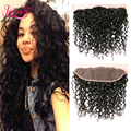 Brazilian Water Wave Lace Frontal Closure 13X4 Wet and Wavy Virgin 8A Brazilian Hair Frontal Lace closure 100% Human Hair