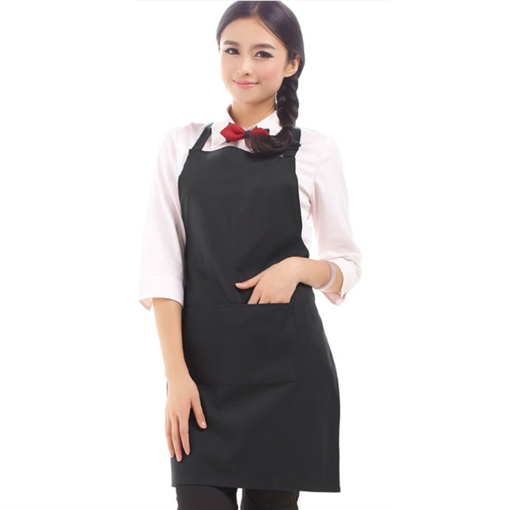 White apron plain