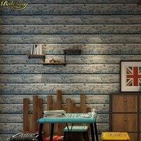 Beibehang Papel De Parede 3d Vintage Wood Grain Wallpaper Dining Room TV Background Wall Wallpaper Pvc