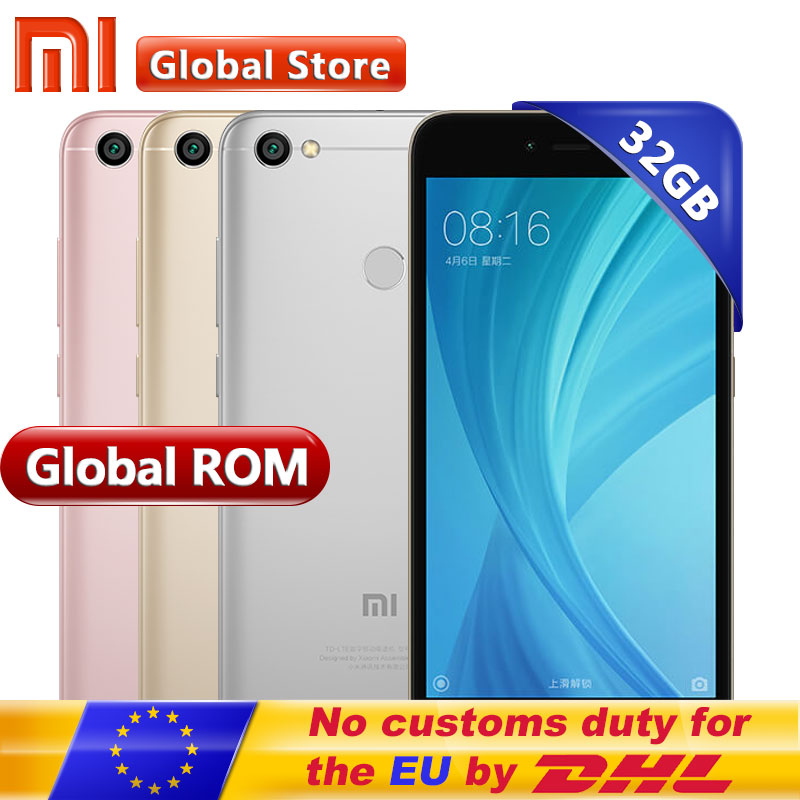 Xiaomi Redmi Note 5A 3 GB 32 GB Prime Mobile Phone Redmi Note5A smartphone Snapdragon