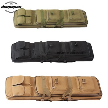 Heavy Duty Airsoft Military Tactical Gun Bag Outdoor Quality Rifle Case Shoulder Backup Pouch for Hunting CS Field Sport