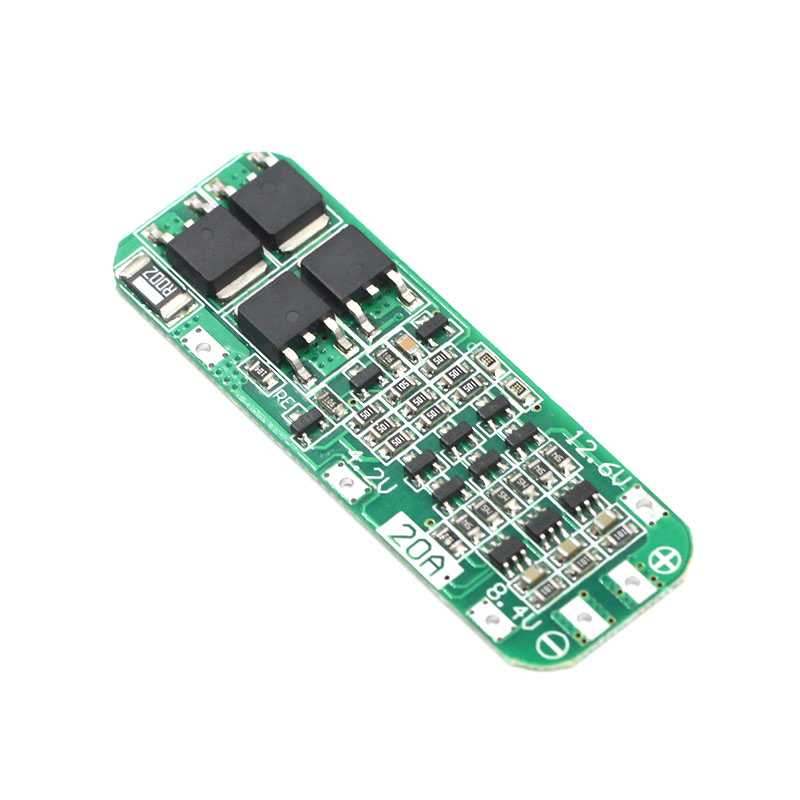 3S 20A Li-ion Lithium Battery 18650 Charger PCB BMS Protection Board For Drill Motor 12.6V Lipo Cell Module 64x20x3.4mm