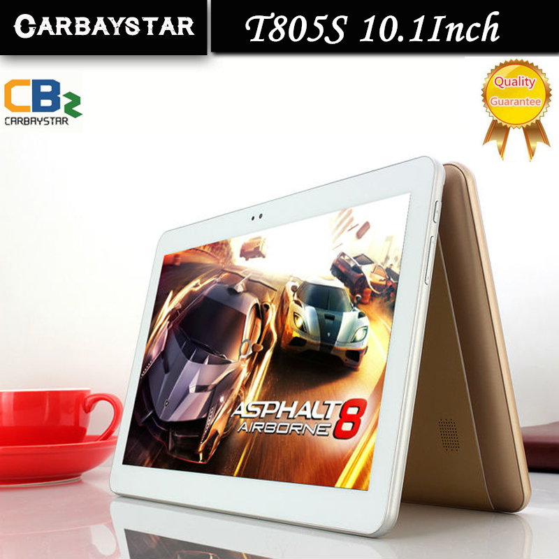 New 4G LTE CARBAYSTAR T805S 10 1 inch Ram 4GB Rom 64GB Octa Core MT8752 Android