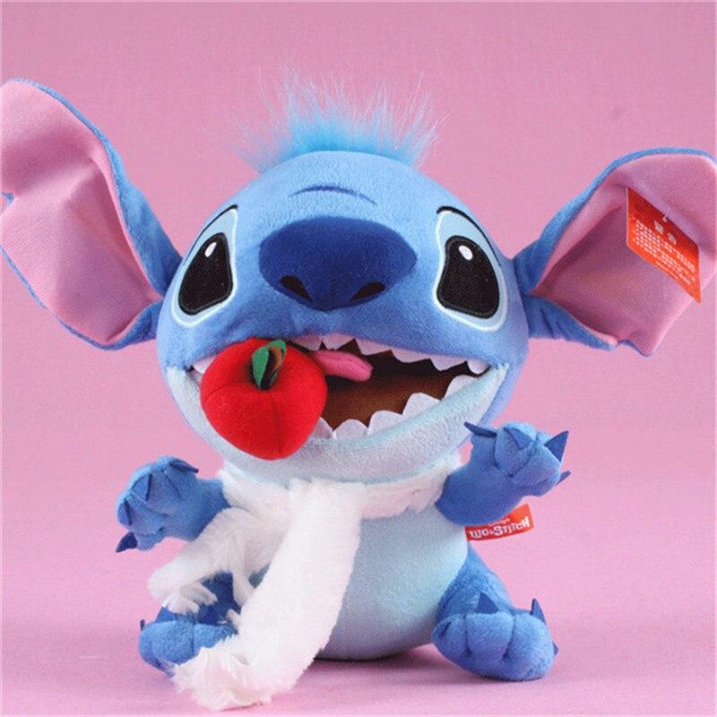 Kawaii Anime Stitch Plush Toys Big Lilo and Stitch Stich Stuffed Dolls Blue Stitchs Kids Birthday Christmas Gift 30cm  (7)
