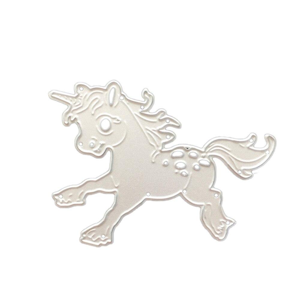 ᐂCaliente DIY metal Recortes de papel plantillas vivos caballo pony ...