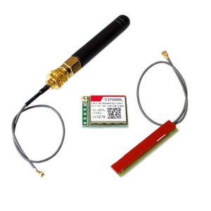 Image 1 - 10 개/몫 SIM800L 무선 GSM GPRS 모듈 쿼드 밴드 W/안테나 케이블 캡