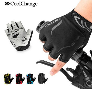CoolChange Long Finger MTB Bike Gloves Men Women Bicycle Winter Gloves Outdoor Waterproof Warm Thermal Thick Cycling Gloves