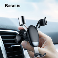 Baseus Mini Gravity Holder Air Vent Car Mount Holder for Phone in Car Universal Phone Holder Stand for iPhone X Samsung Xiaomi