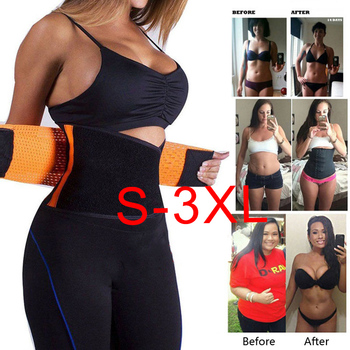 Waist Trainer Corset Girdle Neoprene Sweat Slimming Belt Workout Trimmer Body Shaper Weight Loss Slim Waist Support Shapewear