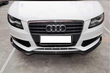 Auto In Fibra di Carbonio Paraurti Anteriore Lip Spoiler, Auto car Diffusore Adatto Per AUDI A4 B8 2009 2010 2011 2012