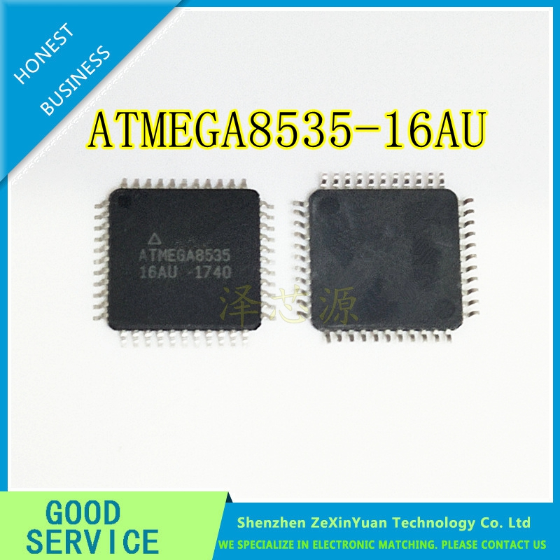 5pcs/lot ATMEGA8535-16AU ATMEGA8535 MCU 8BIT 8KB FLASH TQFP-44 IC Best Quality