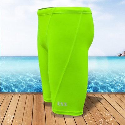 2017 New Beach Swimwear Men's sharkskin water repellent swimming swim trunks Sport shorts Free shipping