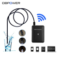 DBPOWER Wifi Endoscope 7mm VGA 300K Inspection Snake camera 1/3/5/10/15/20M Pipe Waterproof USB Borescope Tube Inspection