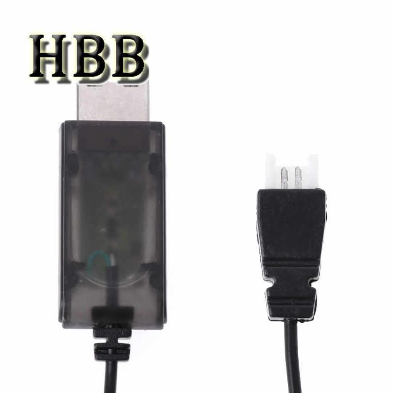 HBB Speelgoed Accessoire 3.7V Batterij USB Charger Cable voor Syma X5 X5C voor Hubsan H107L H107C voor RC Quadcopter