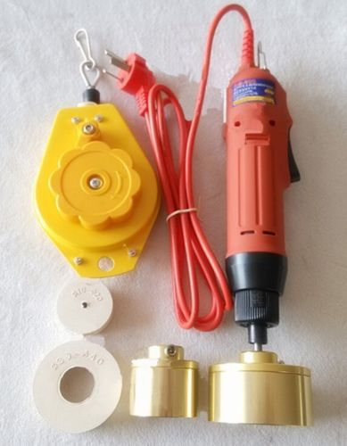Electric HandHeld Bottle Capping Closing Sealing Machine 220V/50Hz Capping Diameter:10-50mm(optional)
