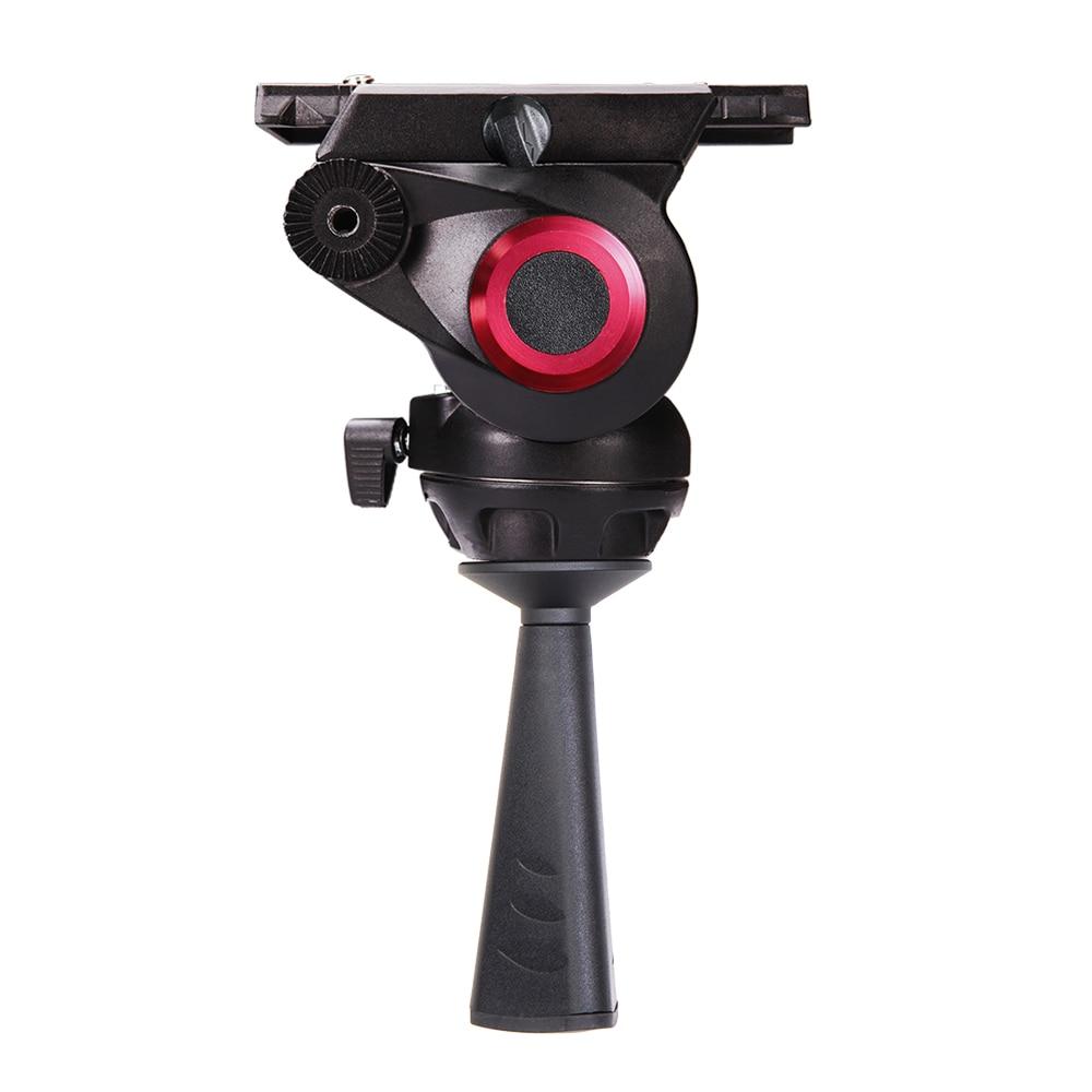 MYT802 stativ stativ / monopod hliníková videokamera stativ stativ kapalina hlava 75mm mísa