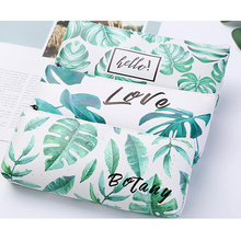 1Pcs/lotSmall Fresh Leaves Large Capacity School Supplies Stationery Gift Cute Pencil Box Pencilcase Bag
