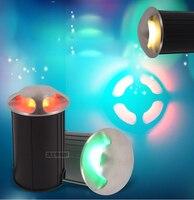 LED Schritt lichter 12 V 1 Watt GEFÜHRTE Vertiefte treppen licht wasserdicht IP67 Außen unterirdischen Beleuchtung garten Landschaft leuchtet wand