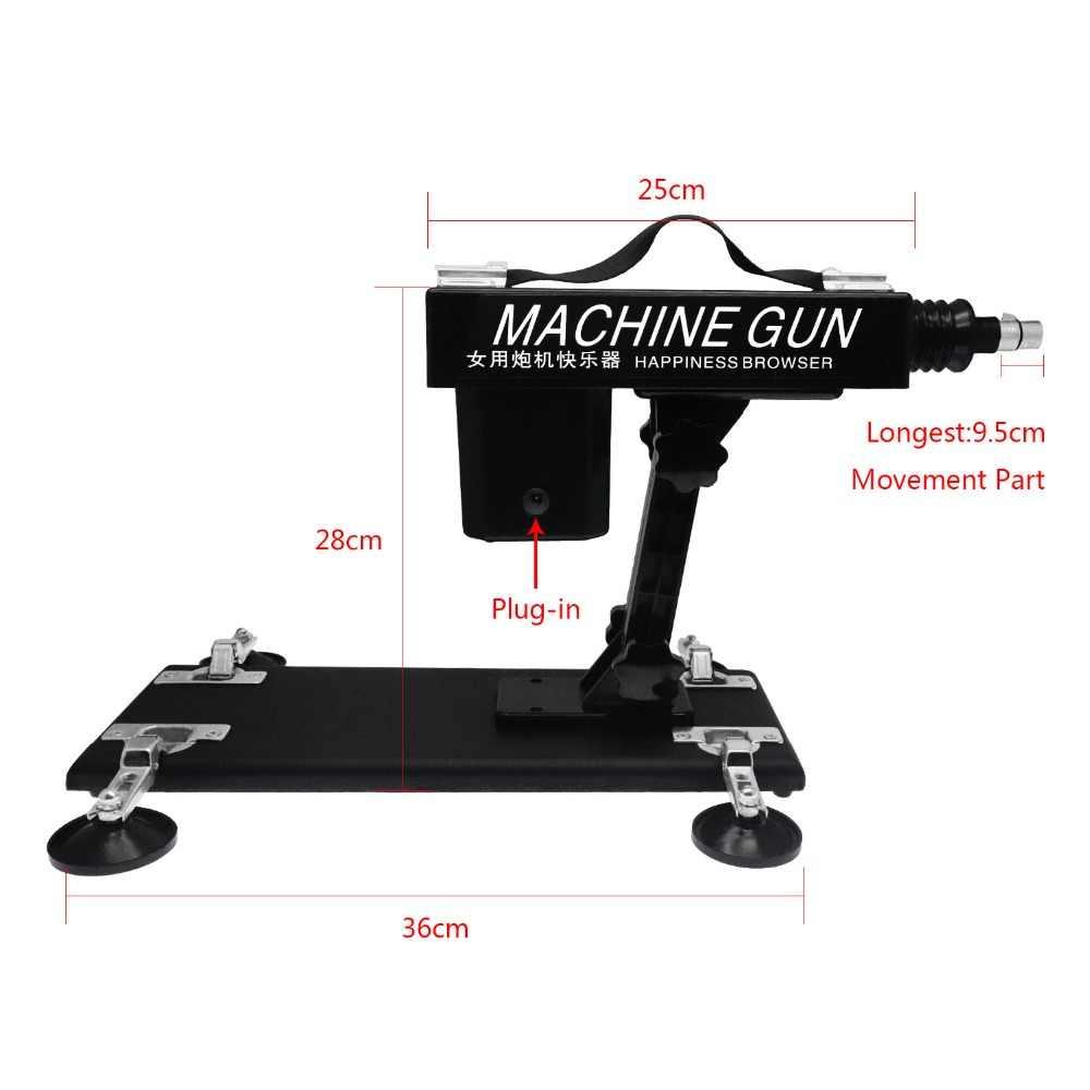 Igrark Mesin Seks Masturbasi Wanita Memompa Senjata dengan 5 Dildo Lampiran Otomatis Mesin Seks untuk Wanita Produk Seks