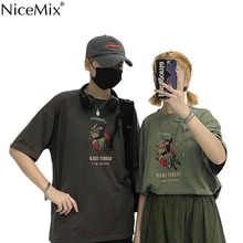 NiceMix Water Bottle Unisex Loose T-Shirt Summer Cotton BF Style T Shirt Fashion Casual Short Sleeve TEE Tops Colors NEW FASHION
