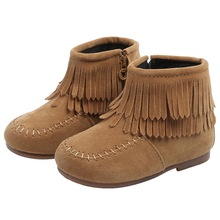 584f54f95 Niños bebé niñas niños invierno cálido borla zapatos antideslizante botas  de nieve Zapatos para niñas