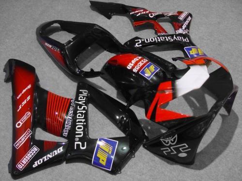 Red gloss black Fairing kit for HONDA CBR900RR 00 01 CBR900 929 CBR900RR 2000 2001 Injection mold Fairings set+7gifts HC15