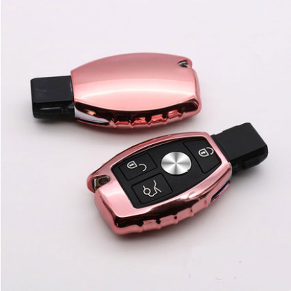 TPU Car Remote Key Cover Case Shell Shell Portachiavi Portachiavi - Accessori per auto interni