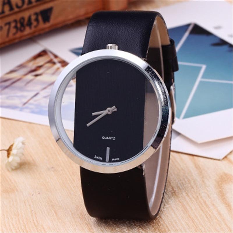 все цены на Ladies Watch DOM Luxury Brand Fashion Casual Quartz Unique Stylish Hollow Skeleton Watch Leather Lady Sports Wrist Watch онлайн