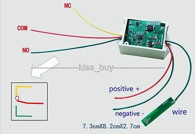 12v Bluetooth Proximity Switch For Mobile Phone induction control switch Module ...