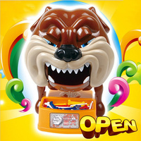 Hot Sell Prank Toys Creative Practical Jokes Biting Dog Bar Table Games Decompression Toy Funny Gift for Kids
