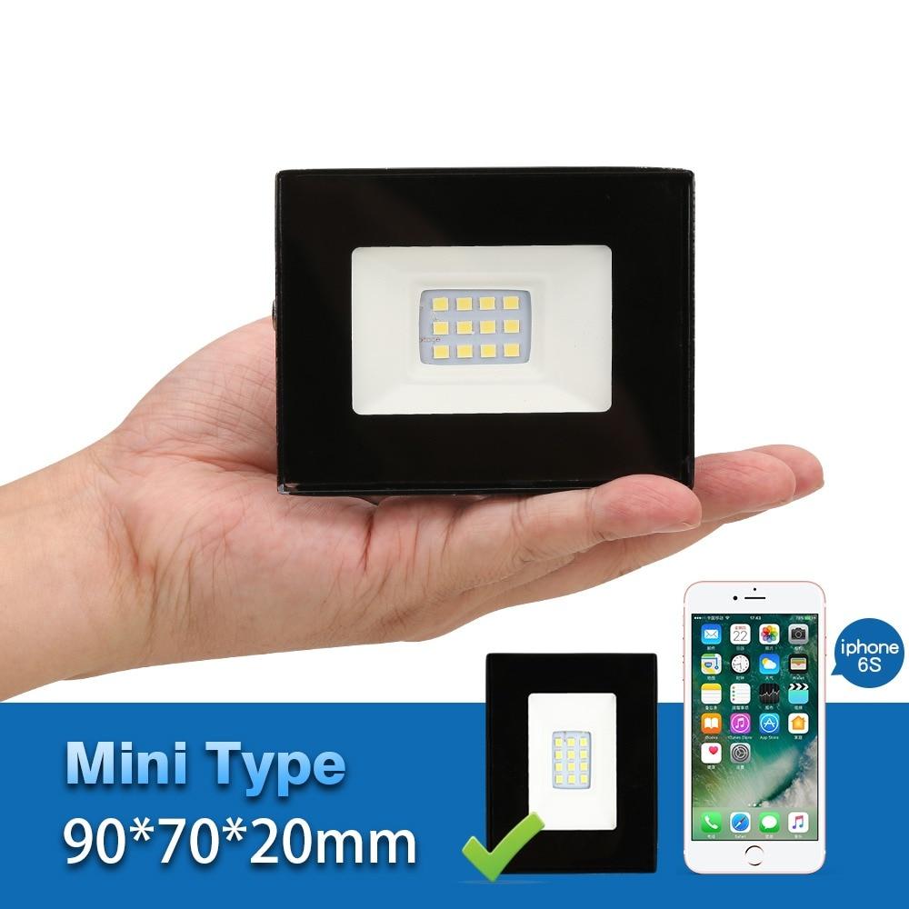 MINI Projecteur Led Projecteur D'extérieur Étanche Ip65 Led Réflecteur 10 w 220 v 240 v Projecteurs Professionnel Éclairage Lampe