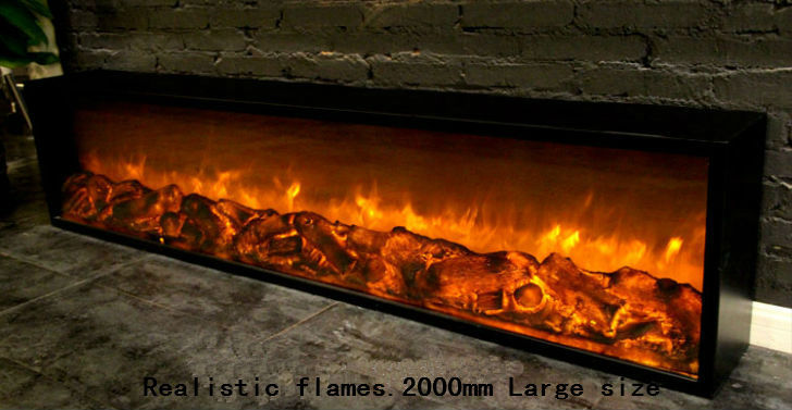 220v imitation flame effect electric fireplace insert-in Electric ...