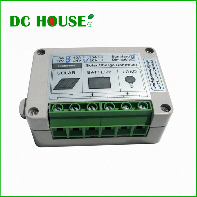 Solar Controller Regulator 5A 12V/24V Charge Battery Safe Protection CE Certify 5A solar charge controller#