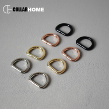 50pcs D-shaped ring 20mm Diy dog collar straps bag mountaineering backpack DIY accessory durable metal buckle 4 colors