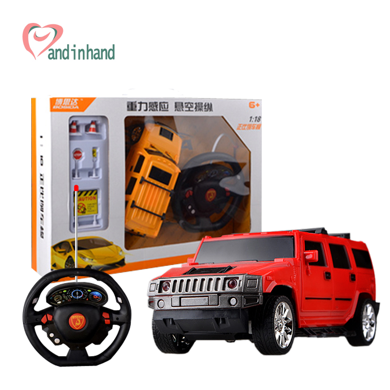 kids toy 118 drift speed radio remote control rc car hummer model rechargeable rc car with light child automobiles machine toy