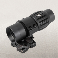 FIRE WOLF Tactical Optic Sight 3X Magnifier Scope Compact Hunting Riflescope Sights With Fit For 20mm