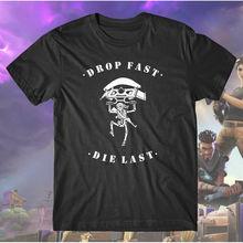 fort Battle Royale Custom Skeleton T-Shirt Shooter Survival Video Game Shirt Free shipping Harajuku Tops t shirt Fashion