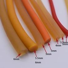 1 метр диаметр 5-6 мм прочная эластичная резина(без отверстия) натуральный латексный трос для йоги используется для спортивных упражнений и фитнеса