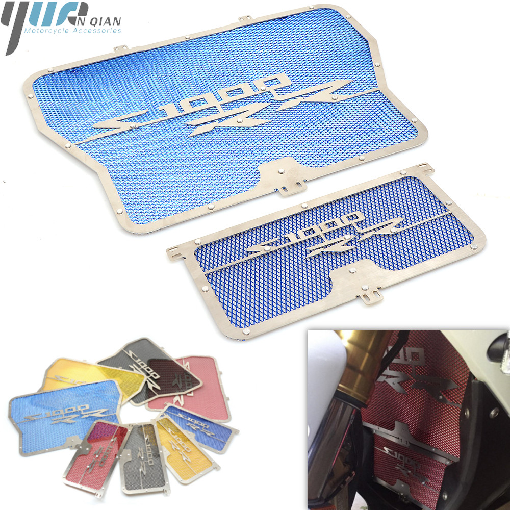 For BMW S1000RR S1000 RR 2009 2010 2011 2012 2013 2014 2015 Motorcycle Radiator Protective Cover Grill Guard Grille Protector-in Covers & Ornamental Mouldings from Automobiles & Motorcycles
