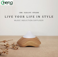 New Changing LED Light Wood Aromatherapy Aroma Diffuser Air Ultrasonic Humidifier Essential Oil Diffuser Mist Maker
